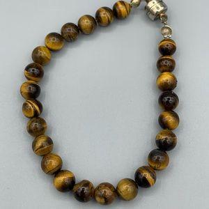 Magnetic Tigerseye Bracelet